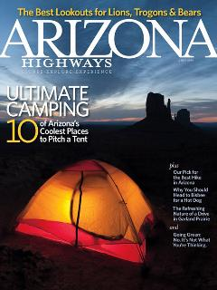 Arizona Highways Magazine cover