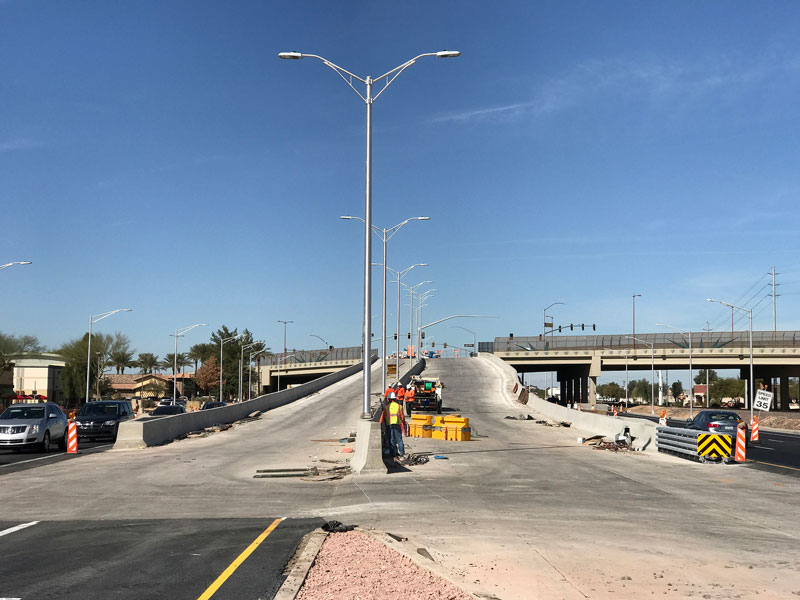 US 60 ramps at Grand Avenue
