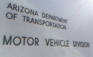 Arizona Department of Transportation Motor Vehicle Division
