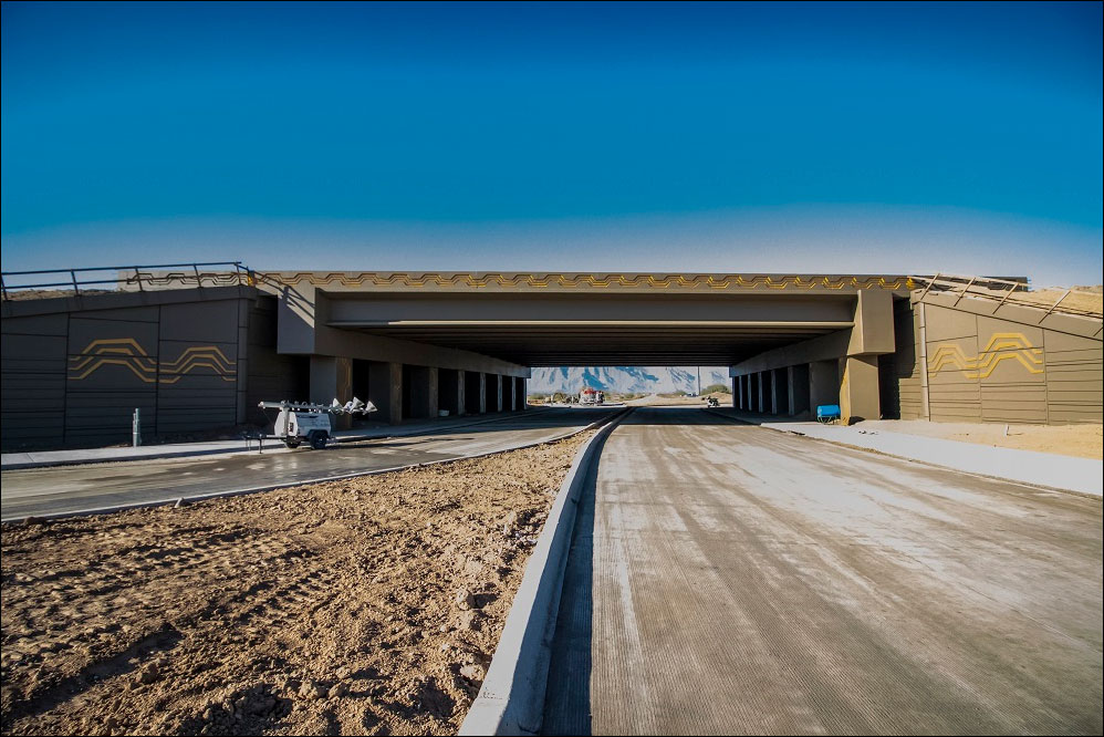 South Mountain Freeway Estrella Dr Overpass