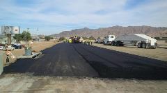 Paving underway on US 95 near Yuma