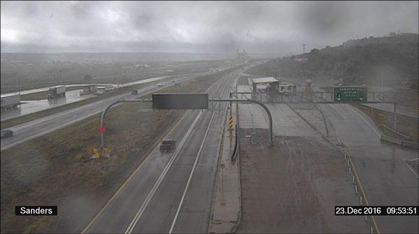 Rainy Weather - 2016 - Sanders Port of Entry