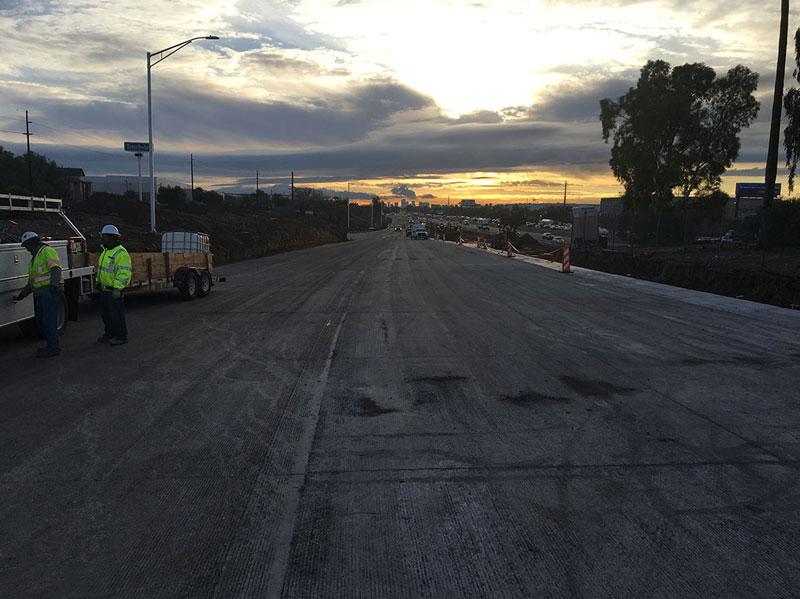 South Mountain Freeway Ramp Closing