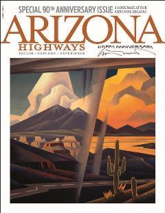 Arizona Highways Magazine 90th Anniversary Issue Cover