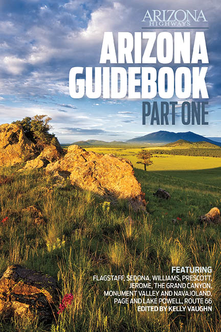 Arizona Highways - Arizona Guidebook part I cover