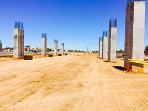 Columns for the Bell / Grand Interchange