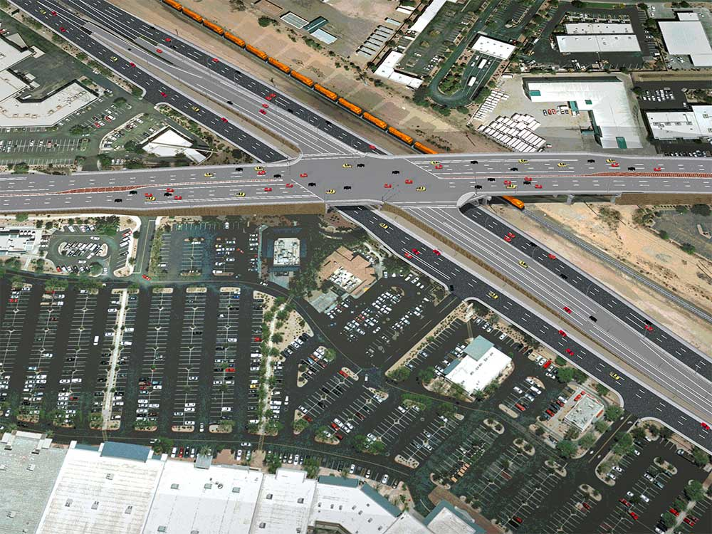 Bell Road and US 60 Interchange