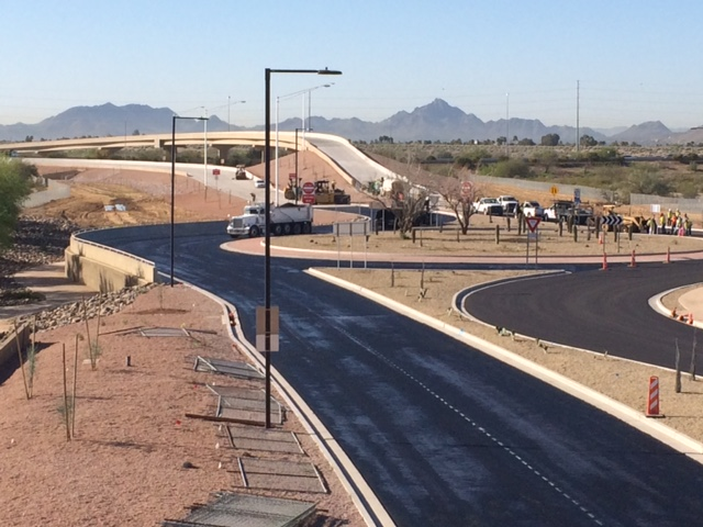 Black Mountain Boulevard Ramp connecting State Route 51 at the Loop 101 Pima Freeway