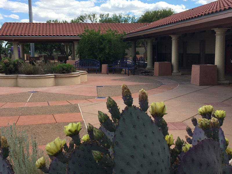 Canoa Ranch Rest Areas after renovation