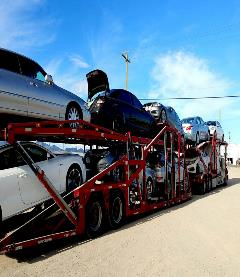 Cars on Car Carrier