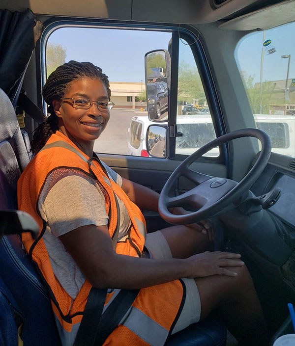 Construction Academy participant, Patricia McKinley