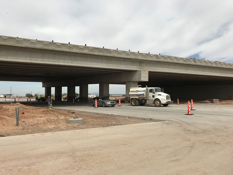 South Mountain Freeway Project: Dobbins Road Reopens