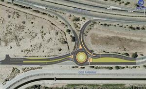 Giss Parkway Roundabout Diagram