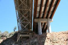 Hell Canyon Bridge (old and new) on SR 89