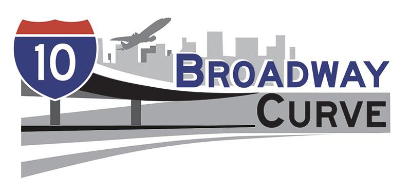 I-10 Broadway Curve Study Logo