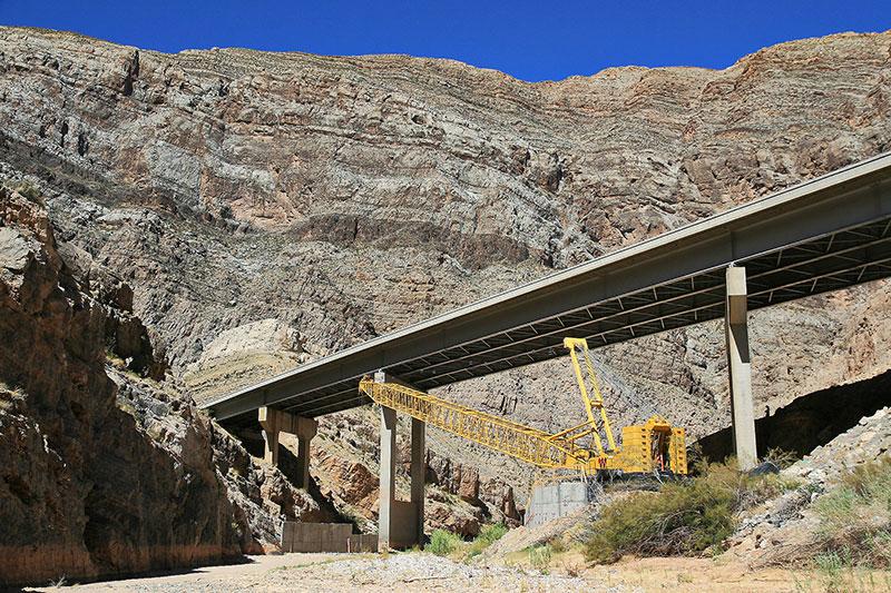 I-15 Virgin River Bridge Number 6 under construction
