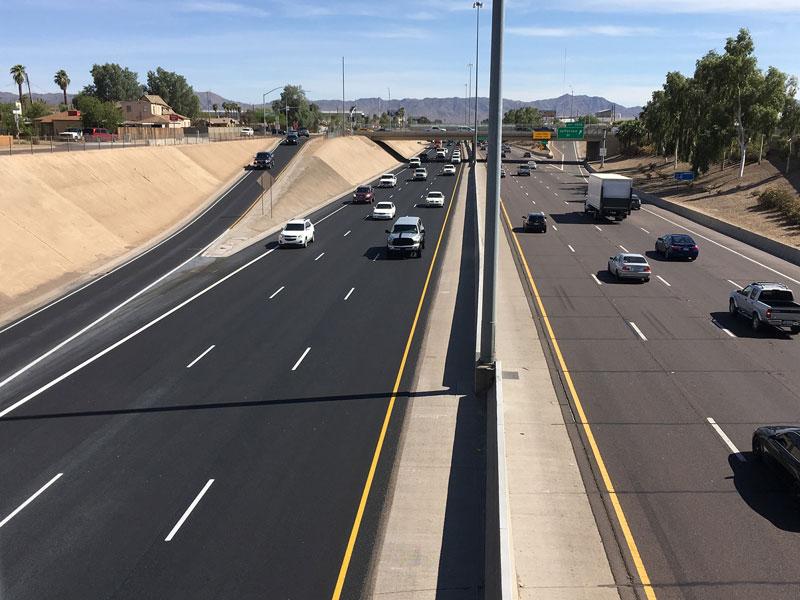 I-17 with Rubberized Asphalt