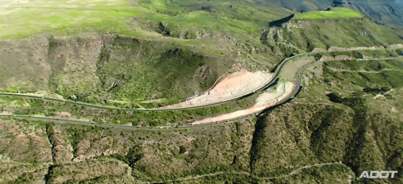 Aerial View of Interstate 17