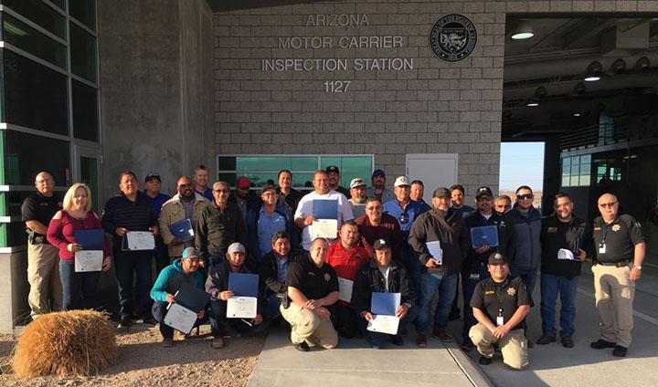 San Luis Training Class Graduates - Feb. 2018