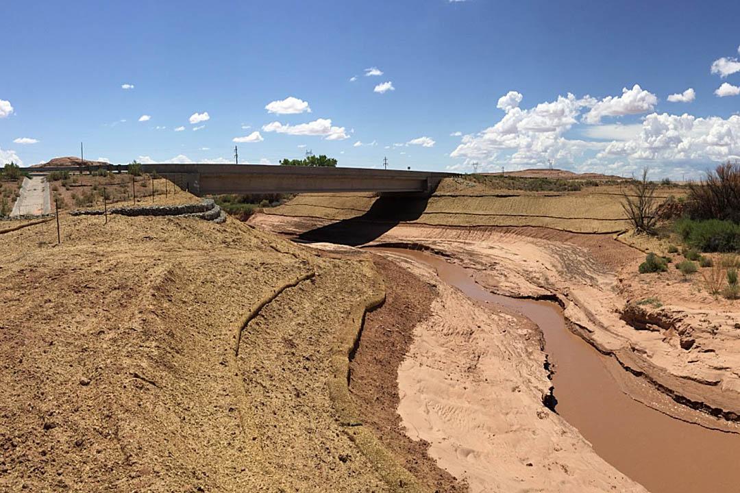 Laguna Creek Bridge After Project Completion