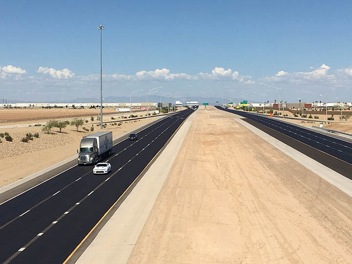 Loop 303 Pavement Improvement Project - View of Loop 303
