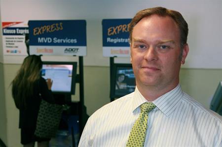 ADOT Motor Vehicle Division Director Eric Jorgensen