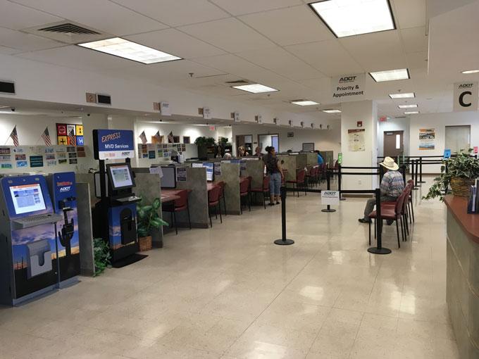 MVD Office Interior