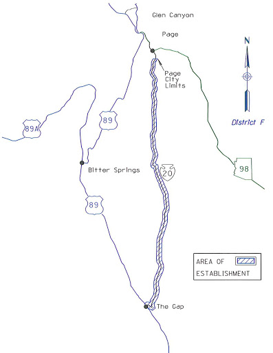 Map of proposed Route 20