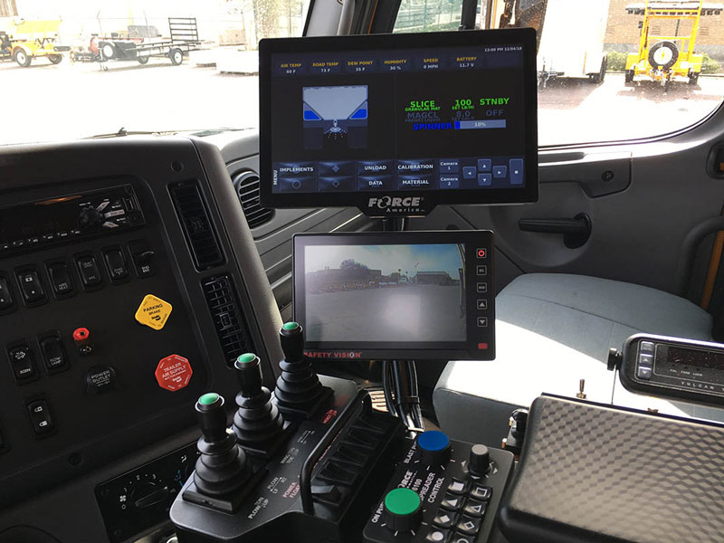 New Snowplow Cab Interior