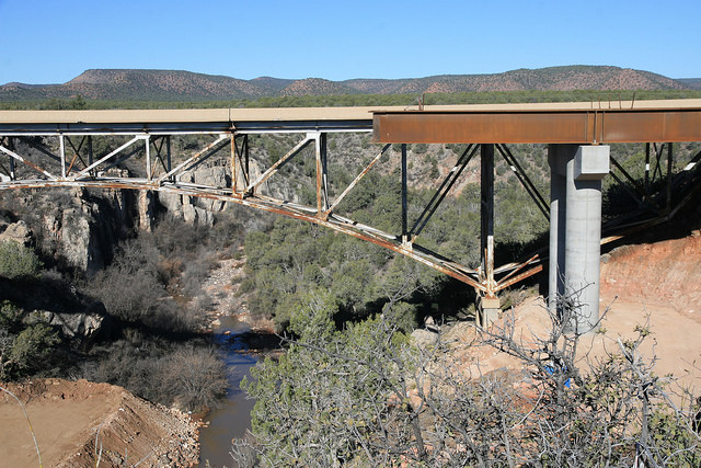 Hell Canyon Bridge on SR 89, now 62 years old.
