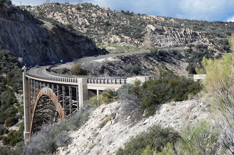 US 60 bridge over Pinto Creek