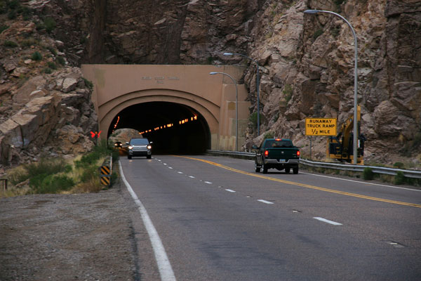 Queen Creek Tunnel on US 60 east of Superior