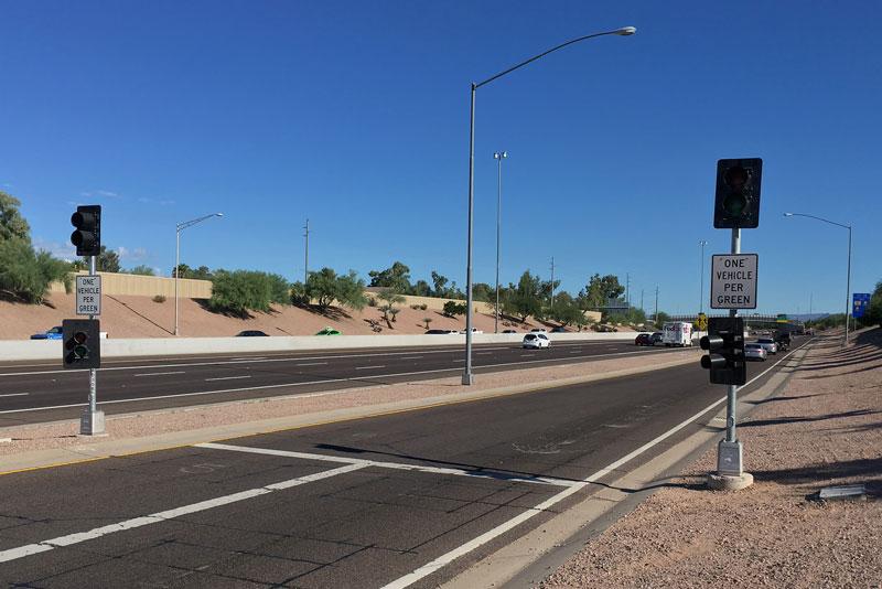 On-Ramp Meters on SR 51