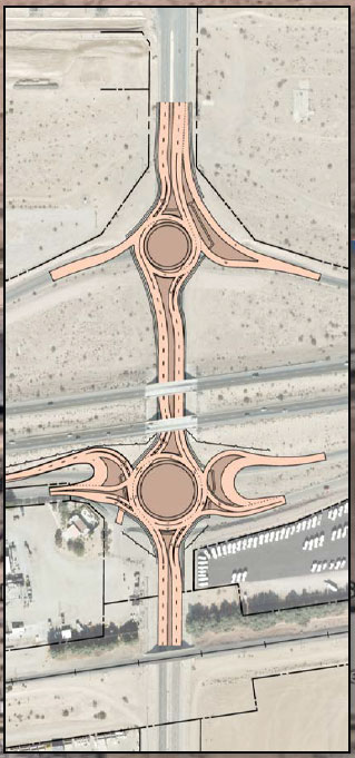 Project Roundabout Illustration - I-8/Araby Rd.