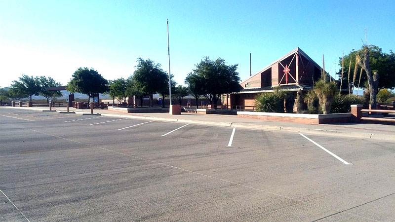 San Simon Rest Area on Interstate 10