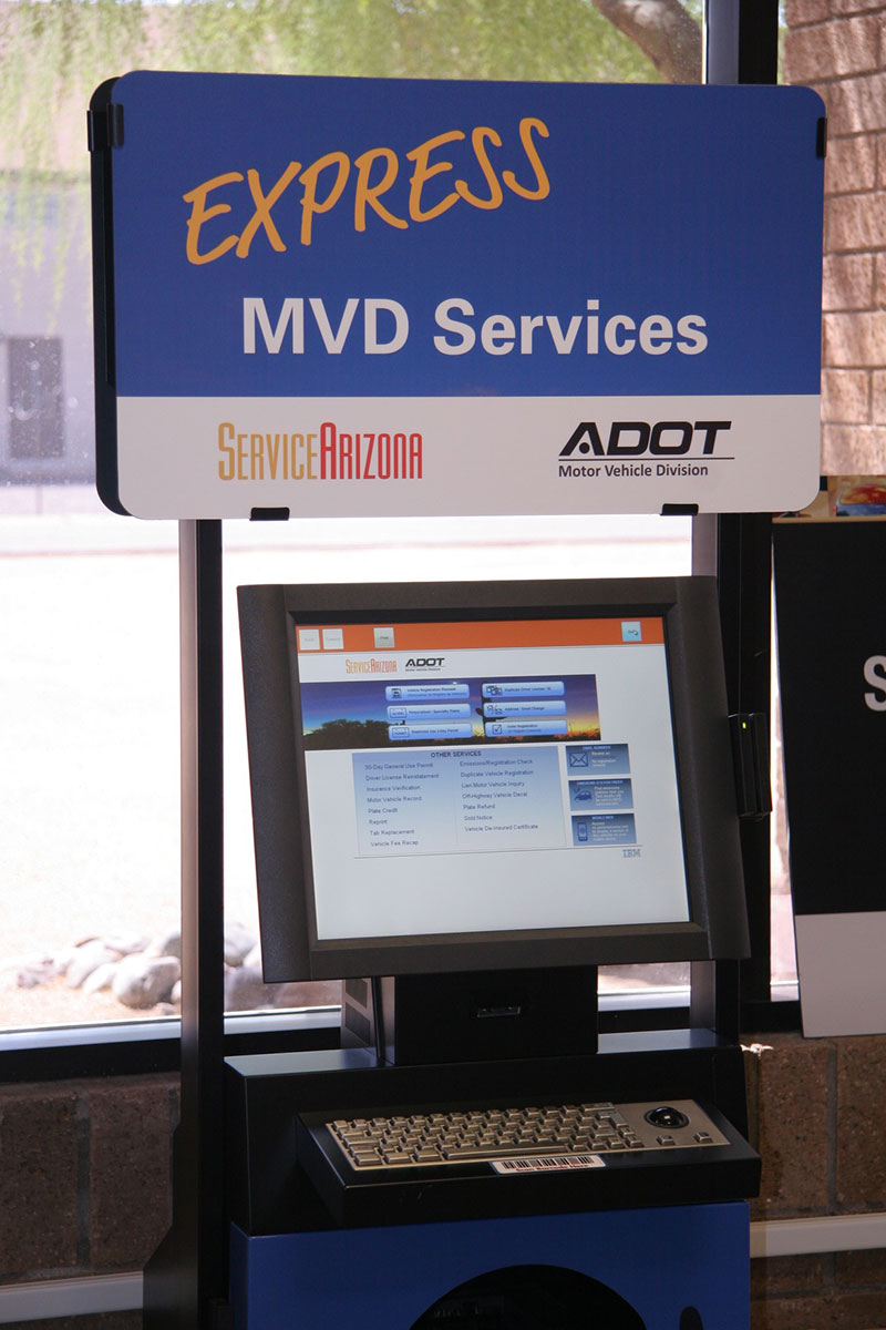 ServiceArizona Kiosk now located in two Valley Courthouses
