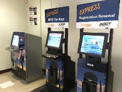 Three Service Arizona Kiosks in Motor Vehicle Office