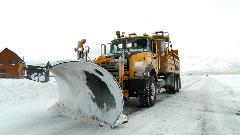 Front view of a Snow Plow