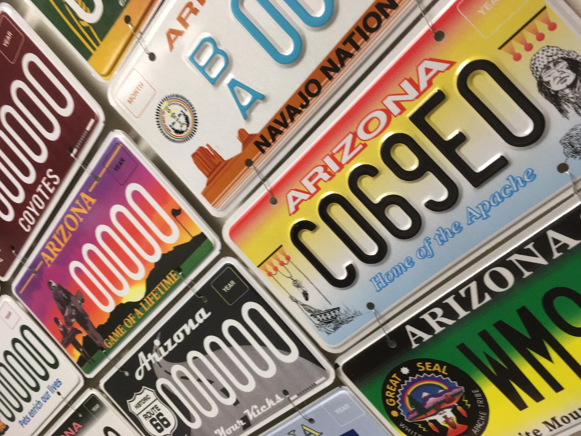 MVD specialty license plates