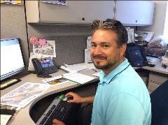 Yuri Lechuga-Robles, an ADOT Intern and Arizona State University landscape architecture student