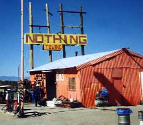 Nothing sure is something