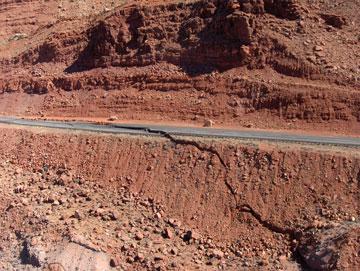 US 89 Landslide