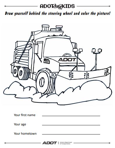ADOT Kids snowplow picture