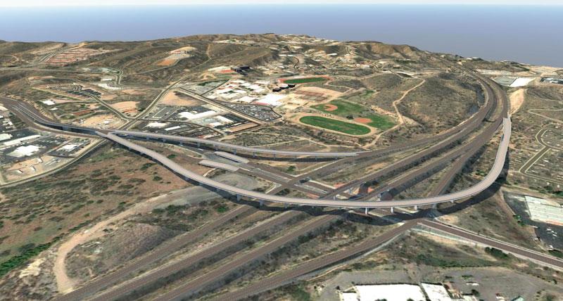 SR 189 flyover ramp rendering