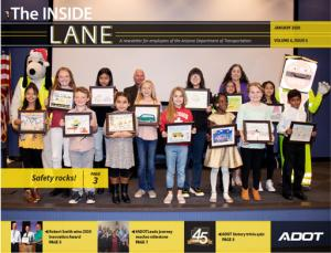 Photo of The Inside Lane January 2020 cover