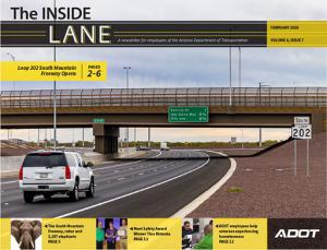 Photo of The Inside Lane February 2020 cover