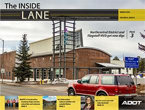 The Inside Lane Cover Photo March 2020