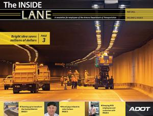 The Inside Lane Cover - May 2021