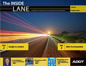 The Inside Lane Cover - July 2021