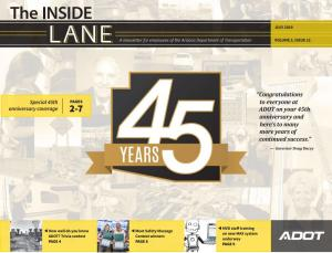 The Inside Lane - July 2019 cover